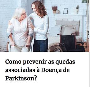 como prevenir quedas na doença de parkinson