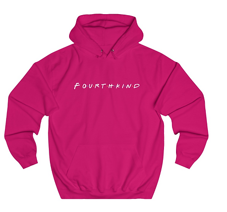 4K Hoodie - The One With Fourth Kind - White Text