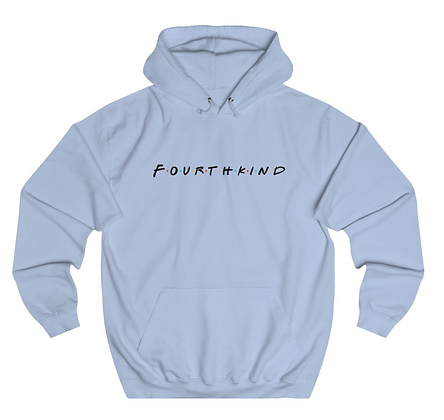 4K Hoodie - The One With Fourth Kind - Black Text
