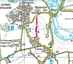 Map of Walk 3