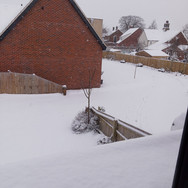 Snowy Rooftops, Swanton Morley