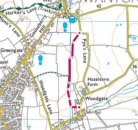Map of Walk 8