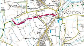 Map of Walk 5