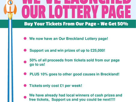 Roll up, roll up....you could win £25,000!
