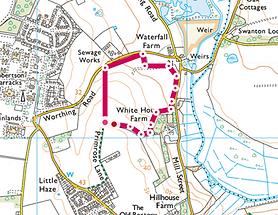 Map of Walk 2