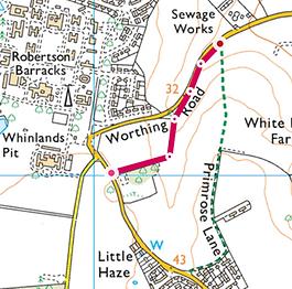 Map of Walk 1