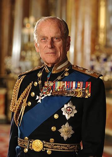 HRH Prince Philip the Duke of Edinburgh 1921 - 2021