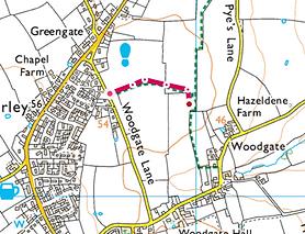 Map of Walk 9