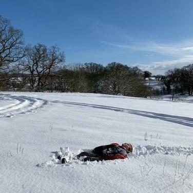 Snow Angels?! in Swanton Morley