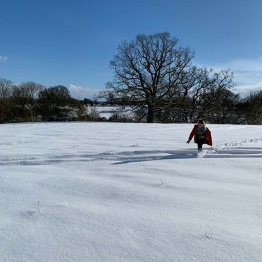 White Snow and Blue Skies, Swanton Morley