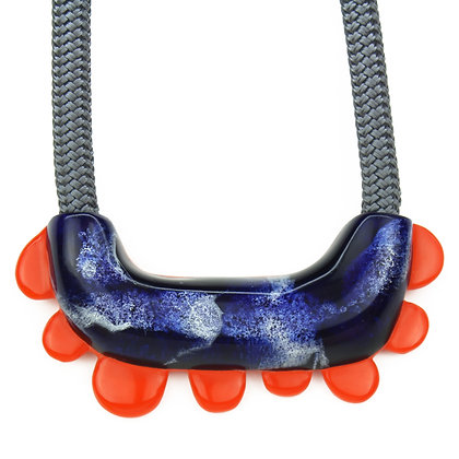 Pebble Tooth Necklace