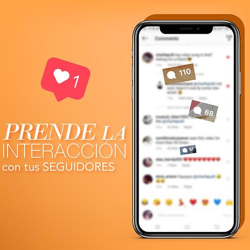 🔥 PRENDE la interacción con tus clientes y seguidores en Instagram