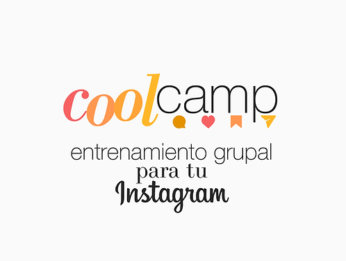 🌟Intensivo de Instagram: Cool Camp (Edición #6)