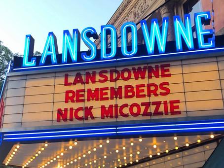 Lansdowne Remembers Nick Micozzie