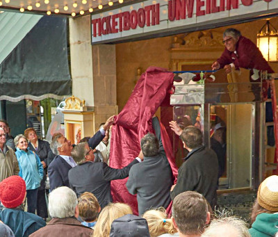 Lansdowne Theater Ticket Booth Unveiled