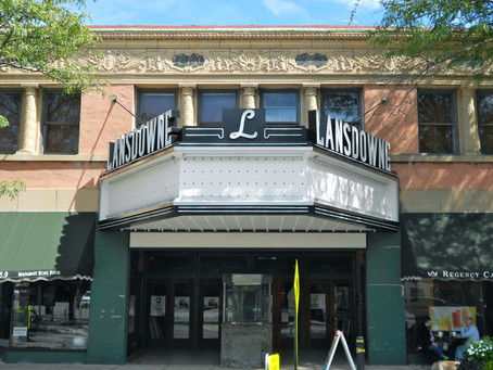Lansdowne Theater Façade To Be Restored