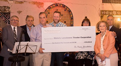 Presser Foundation Makes $150,000 Grant In Support of the Restoration of The Lansdowne