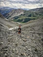 Descenso Monte Chaberton, Iron Bike_