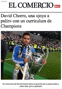 David Chorro. Preparador físico Sporting de Gijón