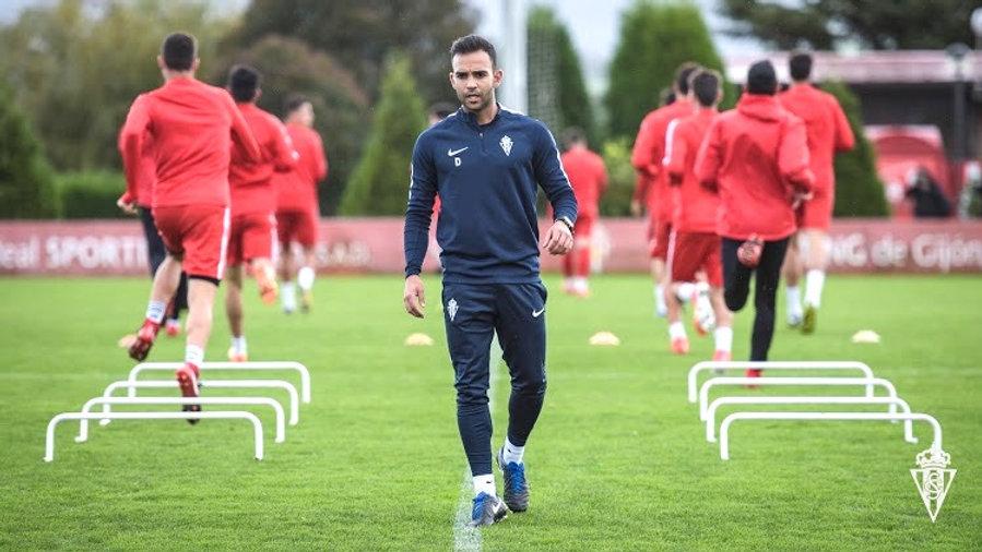 David Chorro Sporting de Gijón