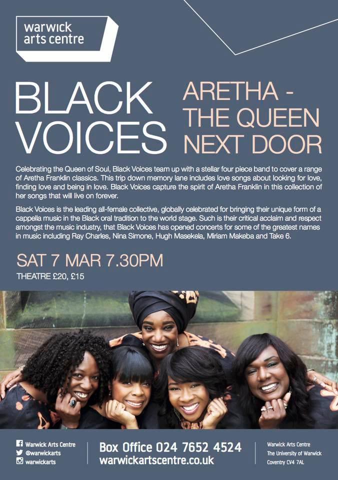 Aretha | Warwick Arts Centre