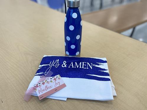Shirt & Water bottle Combo