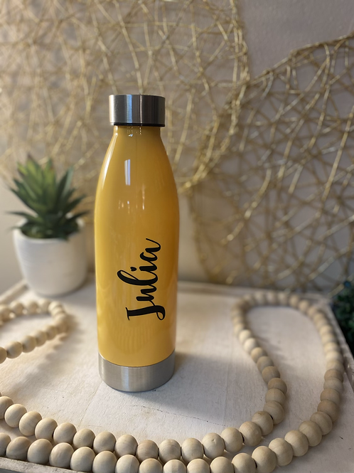 22oz Plastic Water Bottle