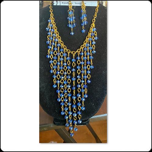 Chevron Crystal Jewelry Set