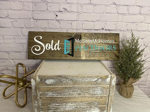 Realtor Sold Sign