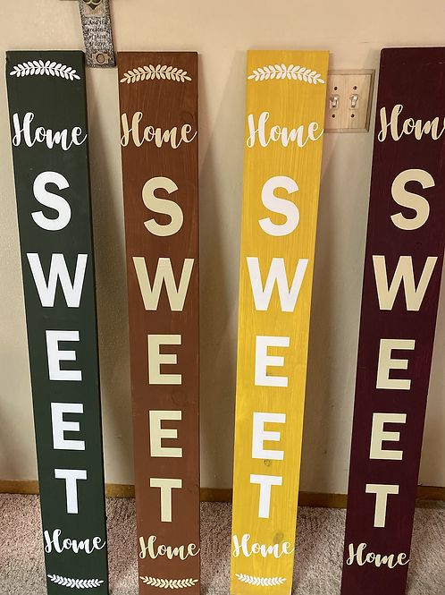 Porch Signs -Singled Sided