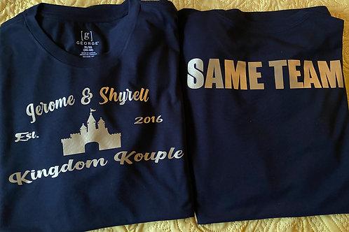 Same Team T-Shirt Combo