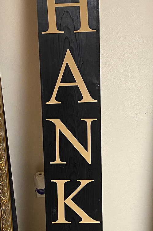 Porch Signs Double Sided