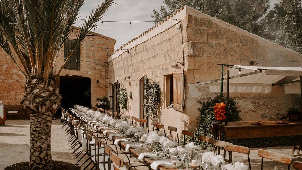 Finca Alaiar Hochzeitslocation für Hochzeit auf Mallorca