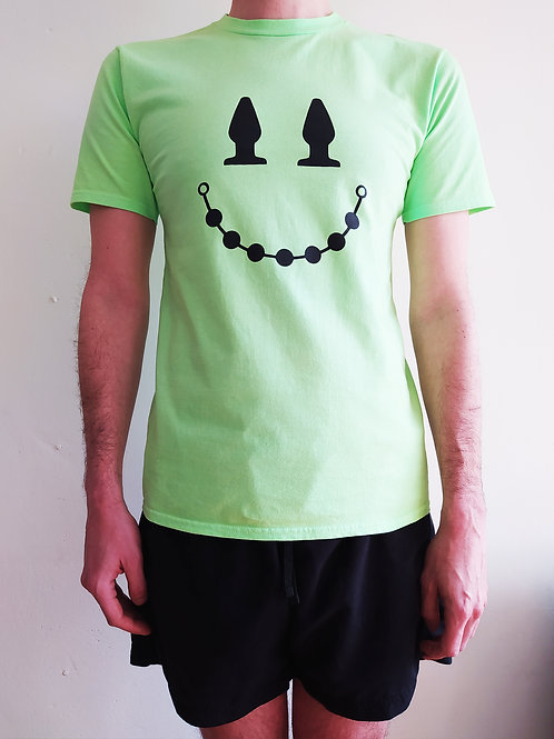 Plug and Play T-shirt  Neon green/B
