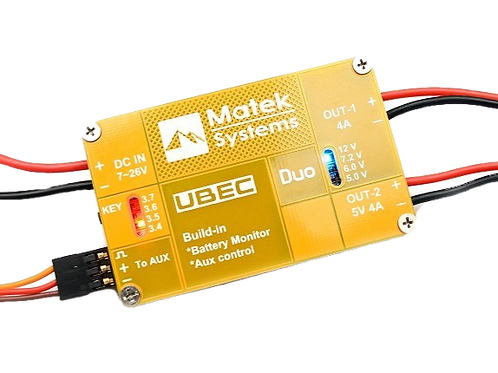 MATEK SYSTEMS UBEC DUO