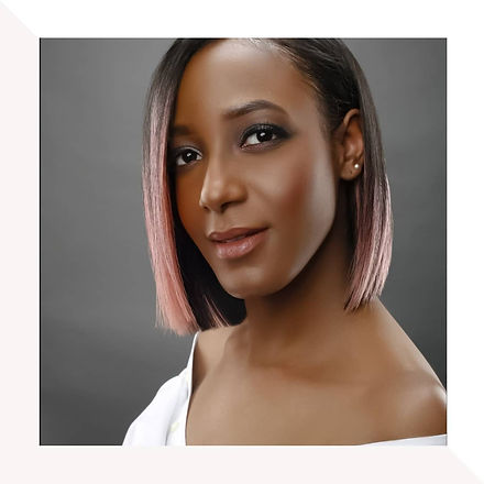 Short bob hairstyles done by Nadia Vassell.  The model is an ombre pink hair.  The weave was installed with little leave out.  Hairstylist located in New York that does textured hair, braids, hair weave, silk press and haircut