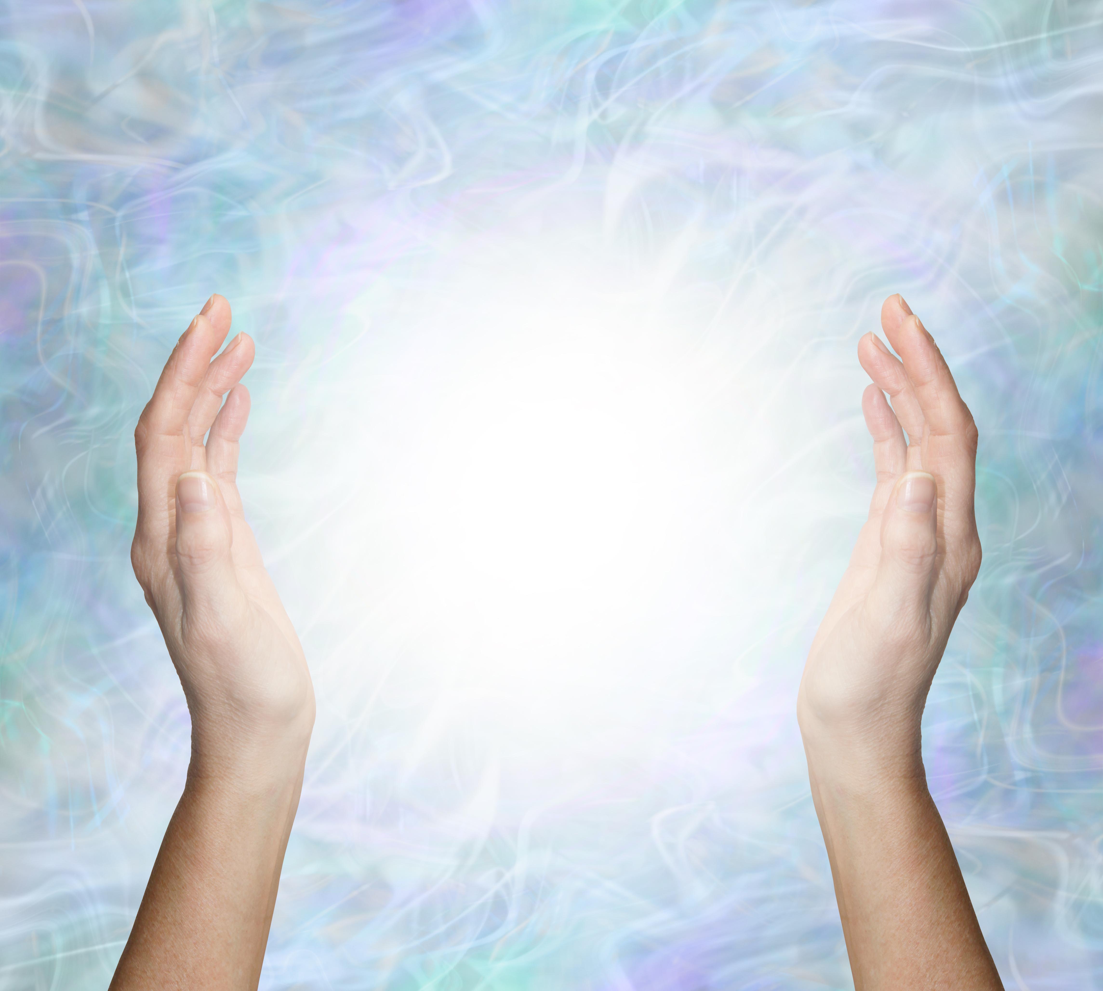 healing handen wijd