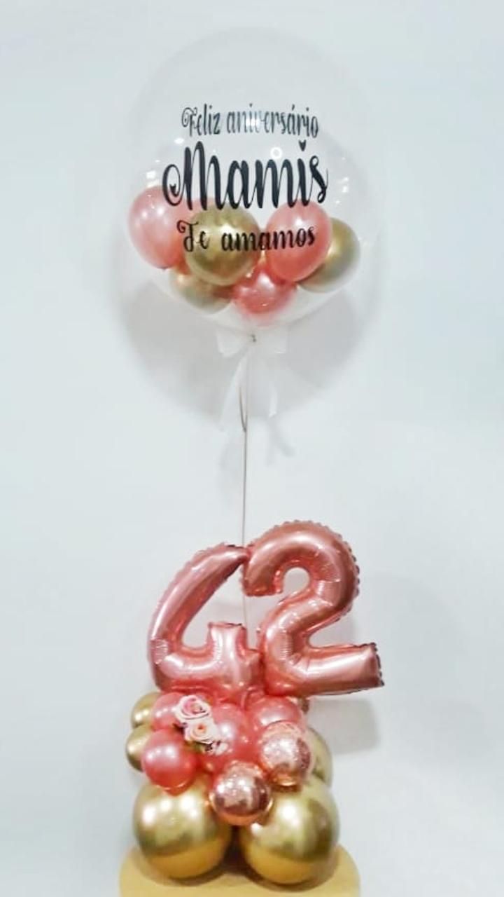 balão bubble-balões de aniversário-balão