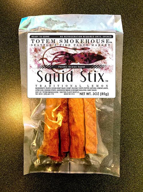 3 oz Traditional Lemon Squid Sticks