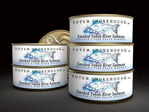 6-3 oz Smoked Wild Yukon River Salmon