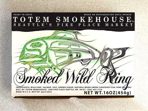 16 oz Smoked Wild King Salmon Fillet Gift Box