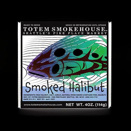 4 oz Smoked Halibut Gift Box