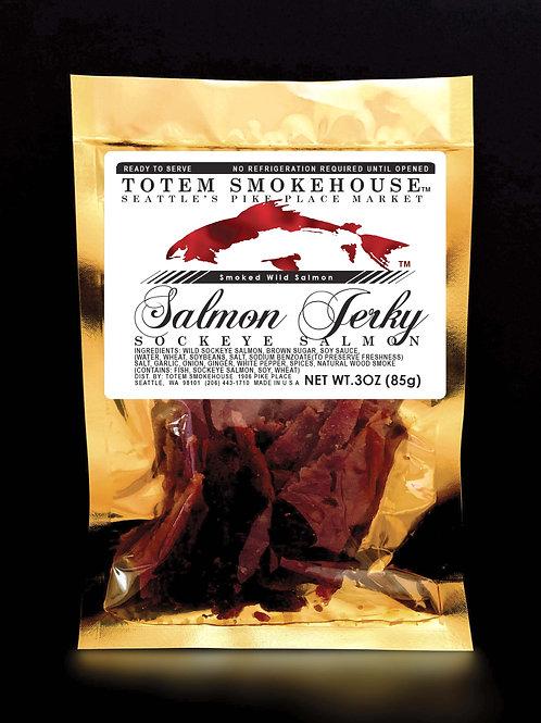 3 oz Wild Sockeye Salmon Jerky