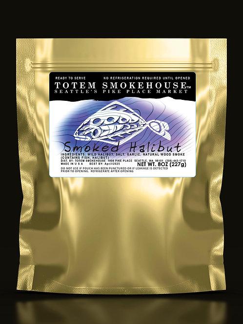 8 oz Smoked Halibut Fillet