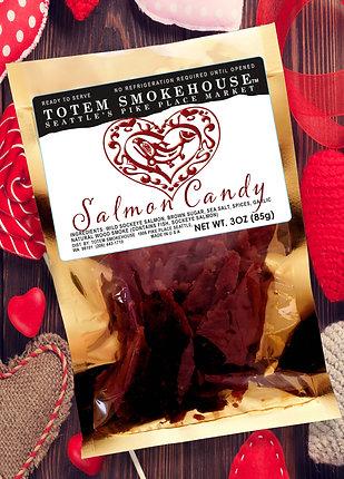 3 oz Wild Sockeye Salmon Candy