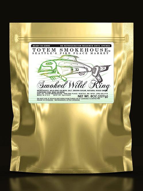 8 oz Smoked Wild King Salmon Fillet