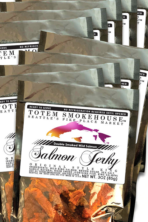10-3 oz Original Wild King Salmon Jerky