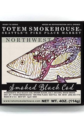 4 oz Smoked Black Cod Gift Box