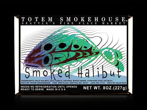 8 oz Smoked Halibut Gift Box