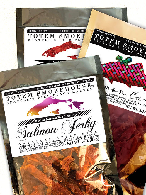 3-3 oz Sweet Tooth Jerky Combination